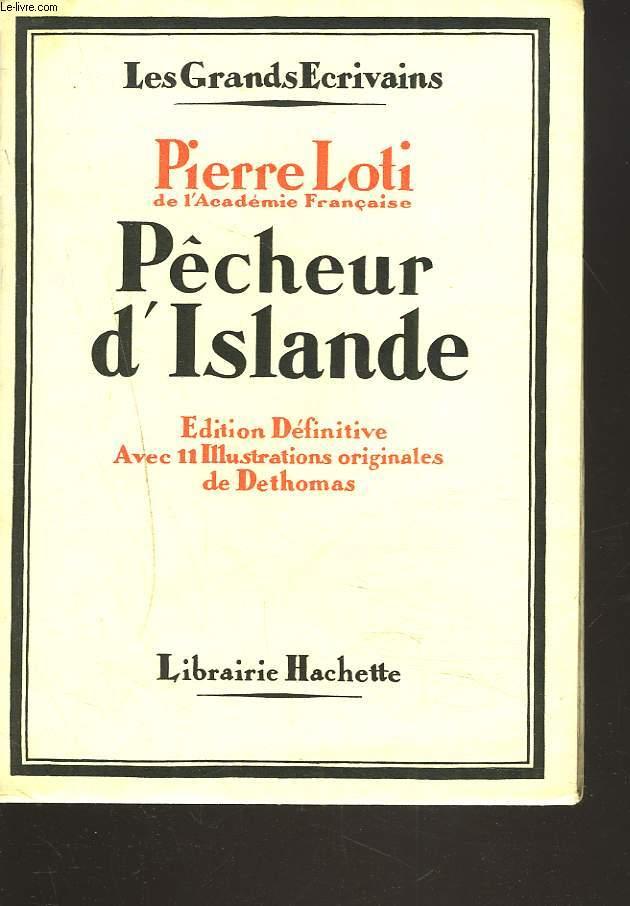 PÊCHEUR D'ISLANDE.