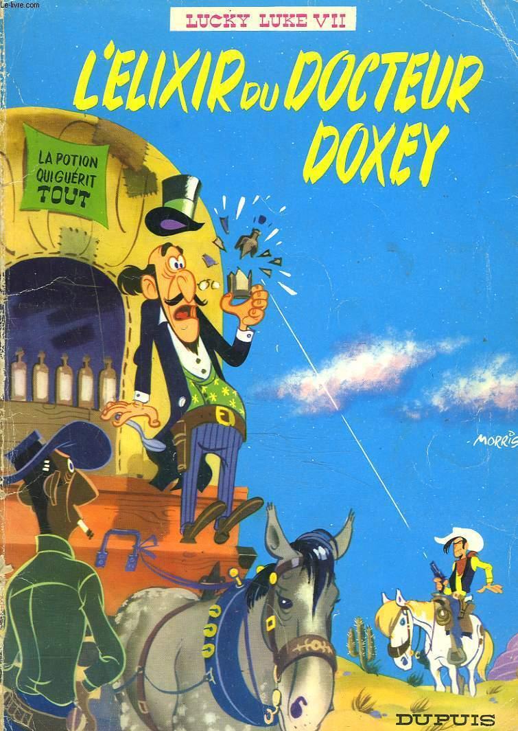 LCKY LUKE VII. L'ELIXIR DU DOCTEUR DOXEY.