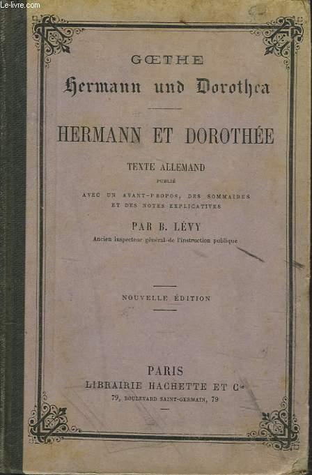 HERMANN UND DOROTHEA / HERMANN ET DOROTHEE.