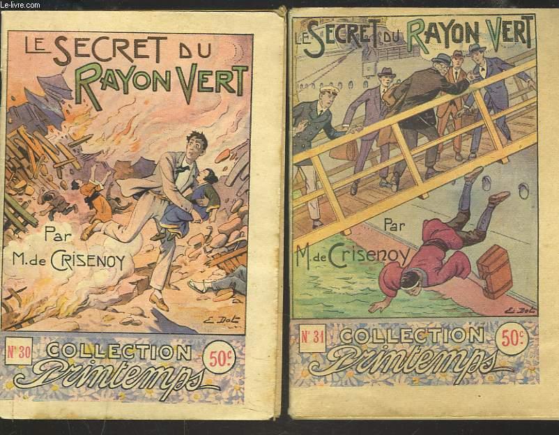 LE SECRET DU RAYON VERT. EN 2 VOLUMES.