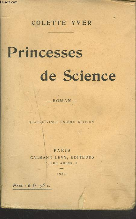 PRINCESSES DE SCIENCE