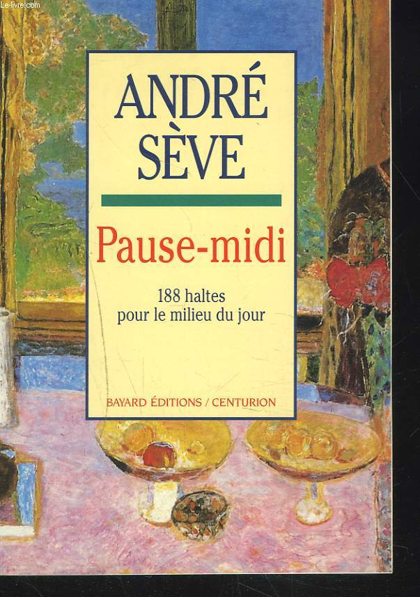 PAUSE-MIDI. 188 HALTES POUR LE MILIEU DU JOUR.
