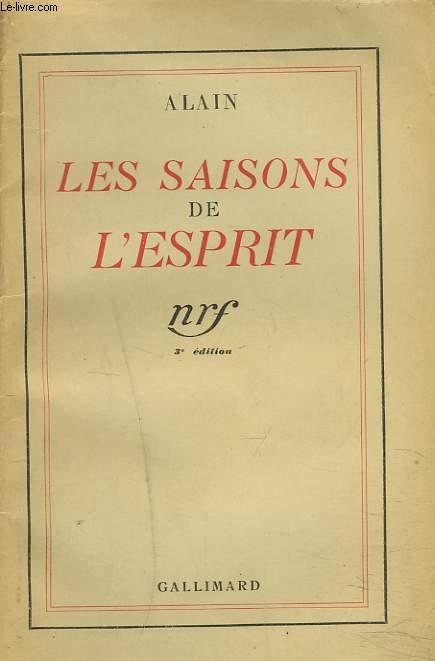 LES SAISONS DE L'ESPRIT