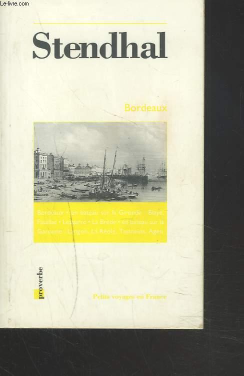BORDEAUX 1838.