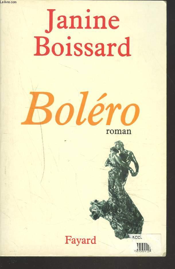 BOLERO. ROMAN.