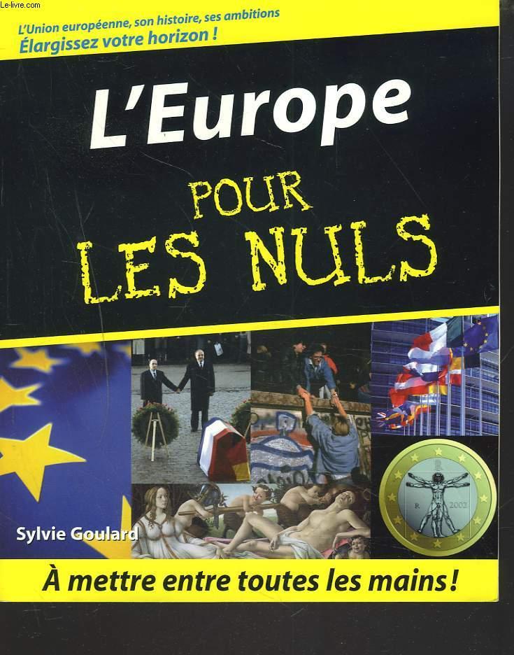 L'EUROPE POUR LES NULS.
