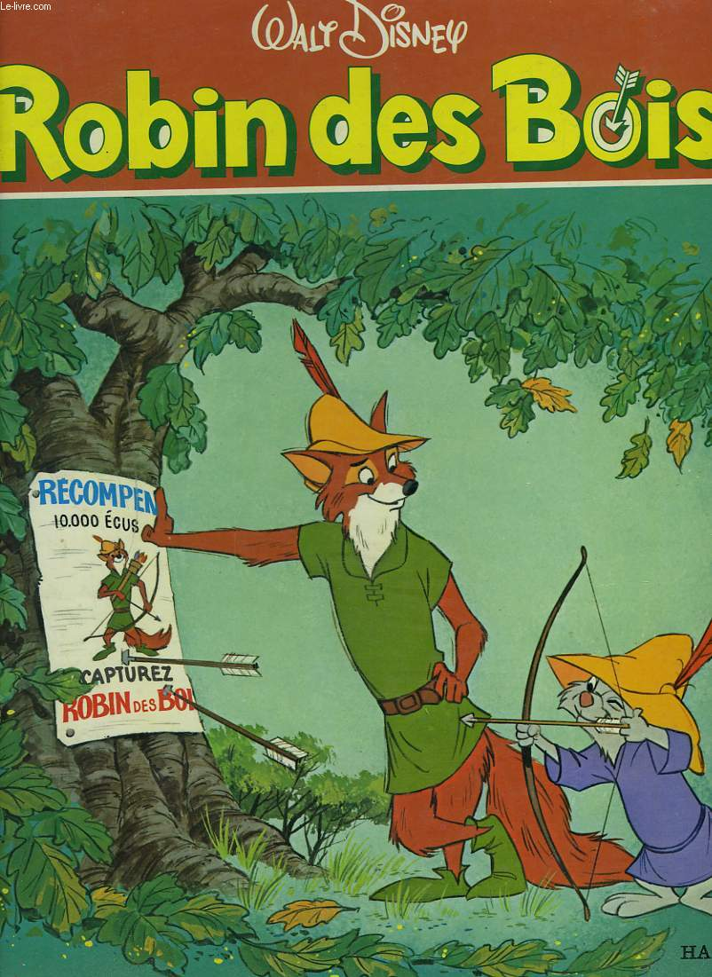 Robin des bois claude morand (adaptation de) ~ Image Robin Des Bois Disney