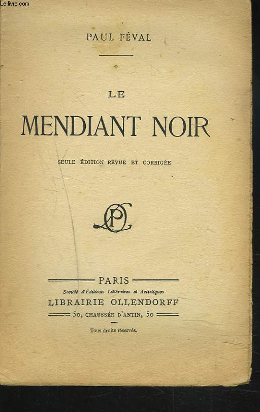 LE MENDIANT NOIR