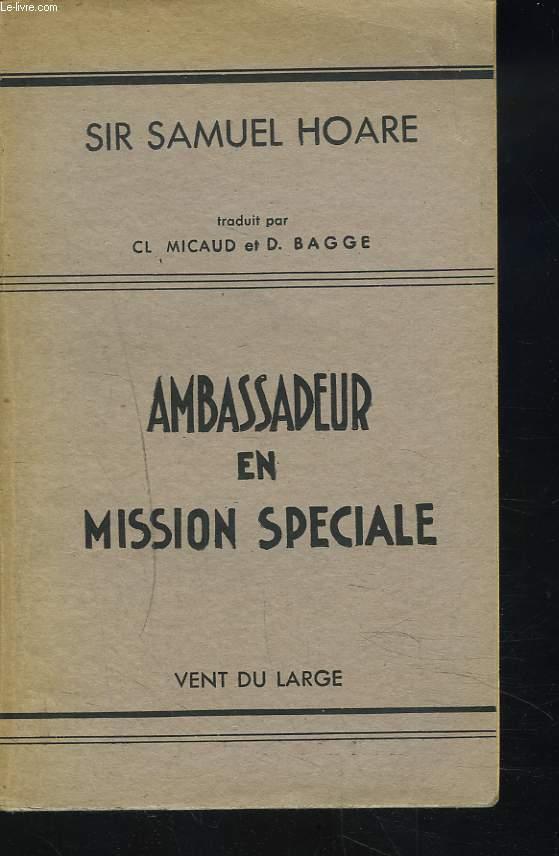 AMBASSADEUR EN MISSION SPECIALE
