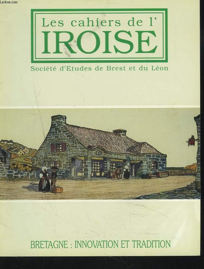 LES CAHIERS DE L'IROISE N°169, JANVIER 1996. BRETAGNE : INNOVATION ET TRADITION / IL Y A CENT ANS MOURAIT VICTOR FENOUX par LOUIS CHAURIS/ LES ORIGINES DE LA FRANC MACONNERIE BRESTOISE par ANDRE KERVELLA / HOMMAGE DE BREST AU POETE HIPPOLYTE VIOLEAU / ...
