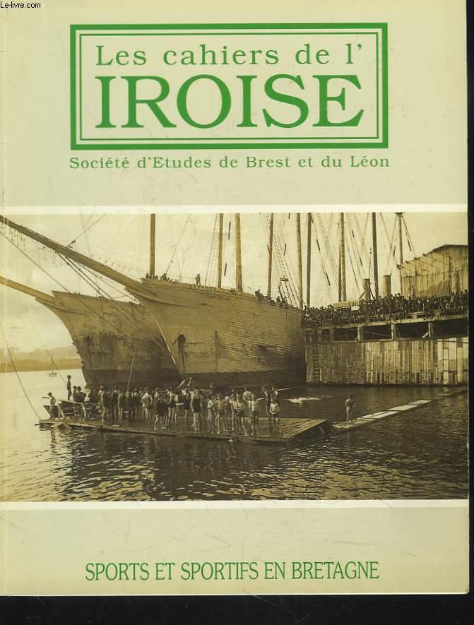 LES CAHIERS DE L'IROISE N°170, AVRIL 1997. SPORTS ET SPORTIFS EN BRETAGNE/ ARMORICAINE-STADE BRESTOIS par PAUL COAT/ LA BRESTOISE 1884-1995 par DANIEL LE FE/ LE FOOTBALL BRETON DE L'ENTRE-DEUX-GUERRES par GEORGES CADIOU/ LE CIRCUIT DE L'AULNE ...