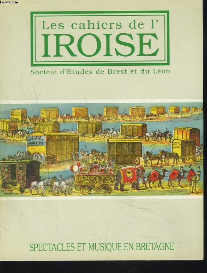 LES CAHIERS DE L'IROISE N°173, JANVIER 1997. SPECTACLES ET MUSIQUE EN BRETAGNE / PAUL LE FLEM, L'EVEIL D'UNE VOCATION par M.-C. MUSSAT / QUIMPER EN FÊTE A LA BELLE EPOQUE par J. SALAUN / A BREST, AU TEMPS DES CAFES-CONCERTS / ...