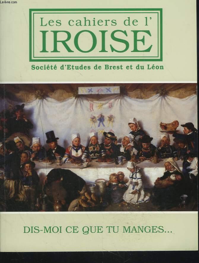 LES CAHIERS DE L'IROISE N°189, JANVIER 2001. DIS-MOI CE QUE TU MANGES... / AVANT LES PATATES / LES RESTAURANTS DE L'ARSENAL / A PROPOS D'HYDROMEL/ L'HOTEL DES VOYAGEURS / PROCES POUR FRAUDE ET PROMPTE CONSOMMATION / BOUILLIE D'AVOINE / ...