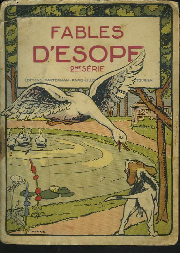 FABLES D'ESOPE. 2e SERIE.