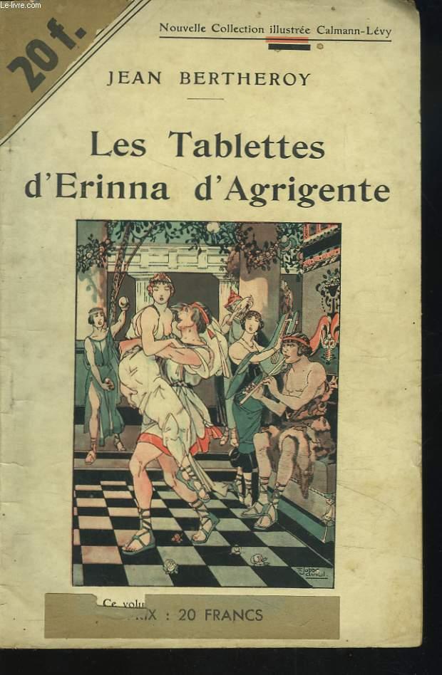 LES TABLETTES D'ERINNA D'AGRIGENTE