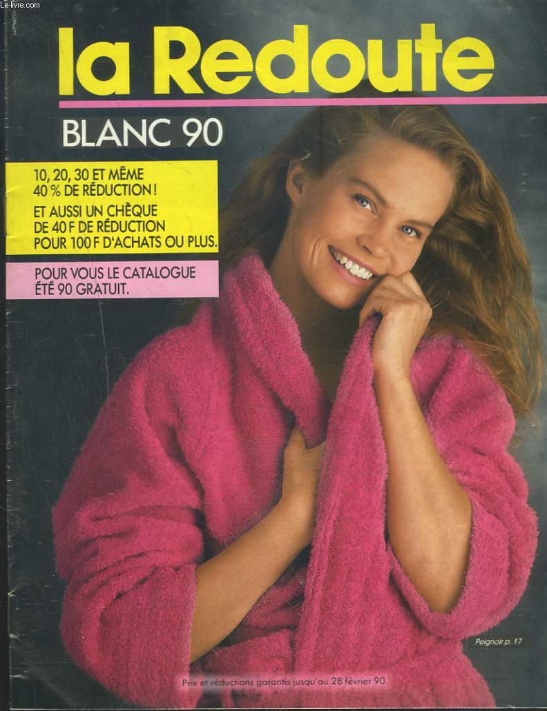 catalogue la redoute blanc 1990 collectif. Black Bedroom Furniture Sets. Home Design Ideas