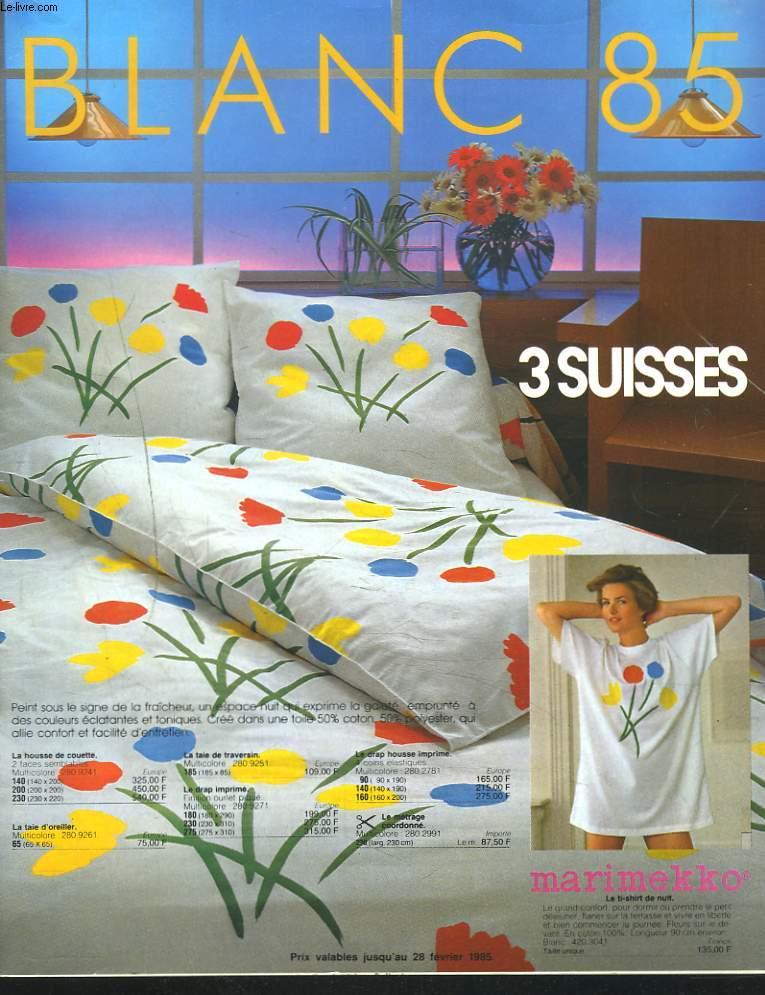 Catalogue 3 suisses blanc 1985 collectif - Les 3 suisses catalogue ...