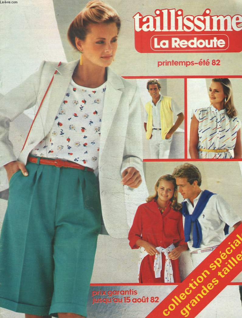 catalogue la redoute taillissime printemps ete 1982 collectif. Black Bedroom Furniture Sets. Home Design Ideas