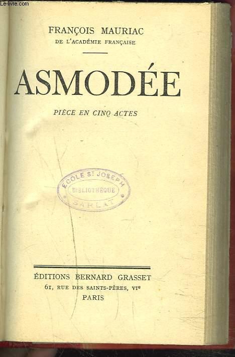 ASMODEE. PIECE EN 5 ACTES.