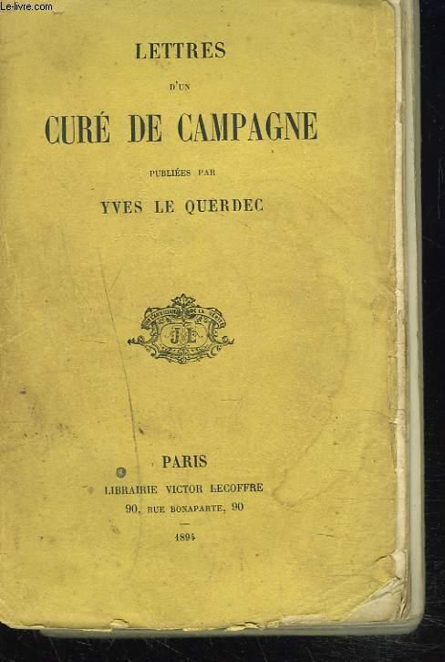 LETTRES D'UN CURE DE CAMPAGNE