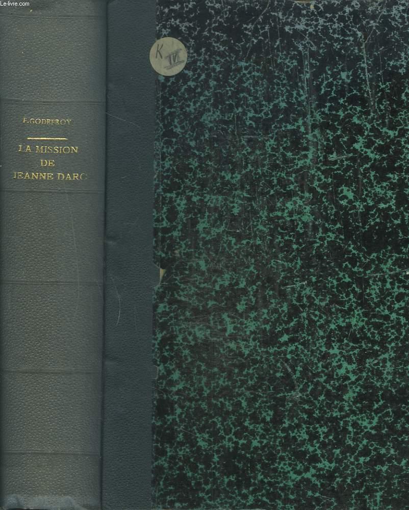 LE LIVRE D'OR FRANCAIS. LA MISSION DE JEANNE D'ARC.