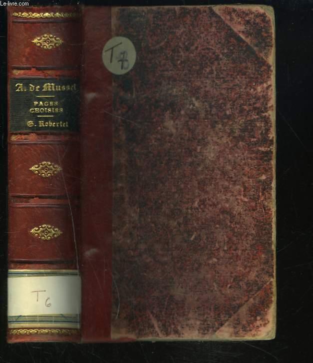 PAGES CHOISIES DES GRANDS ECRIVAINS.
