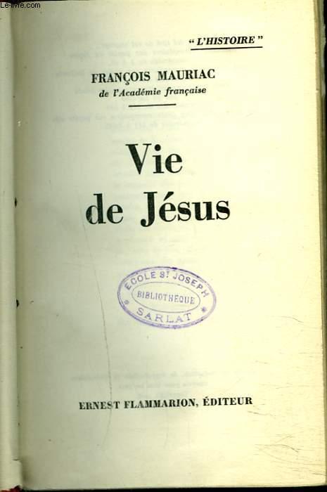 VIE DE JESUS