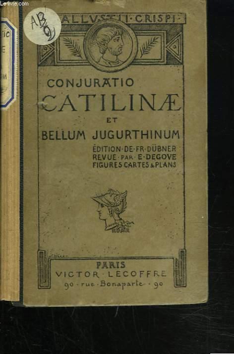 DE CONJURATIONE CATILINAE, DE BELLO JUGURTHINO.