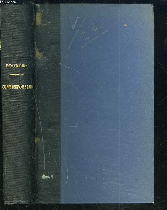 ESSAIS DE PSYCHOLOGIE CONTEMPORAINE. BAUDELAIRE - M. RENAN - FLAUBERT - M. TAINE - STENDHAL.