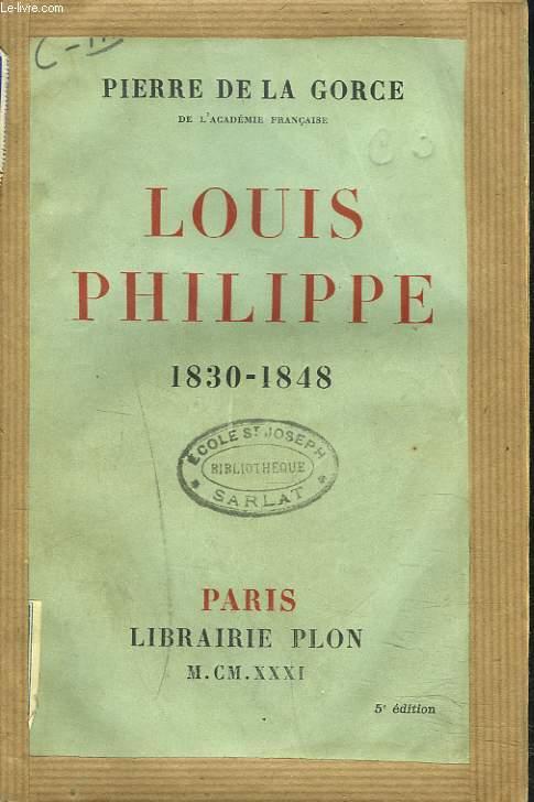LOUIS PHILIPPE 1830-1848.