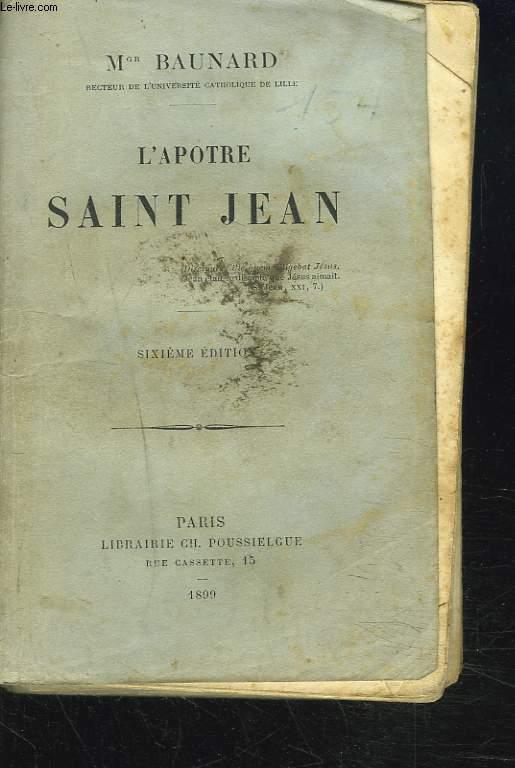 L'APOTRE SAINT JEAN