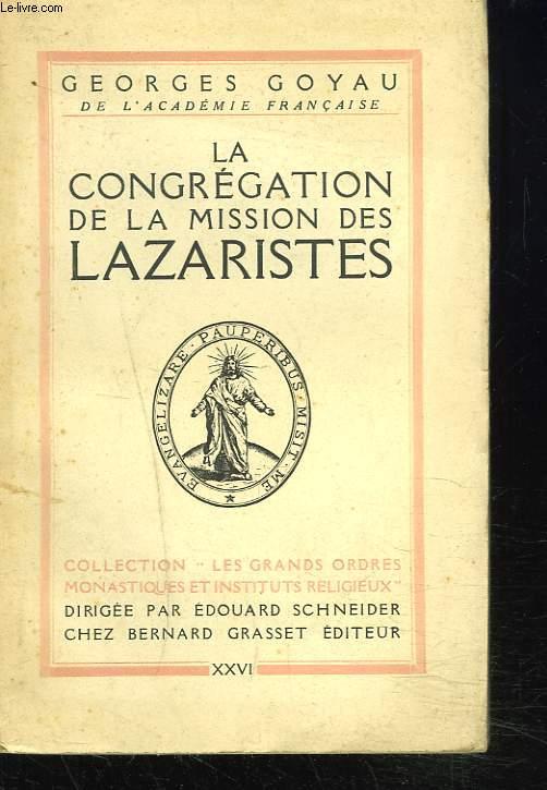 LA CONGREGATION DE LA MISSION DES LAZARISTES
