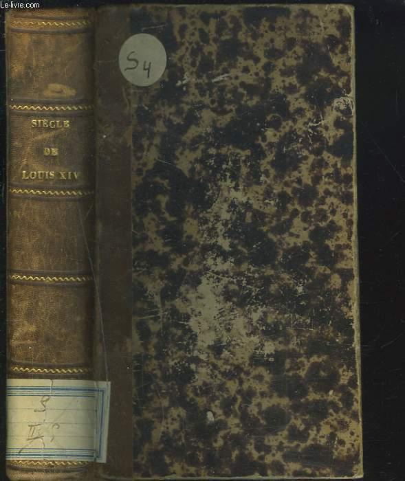 SIECLE DE LOUIS XIV