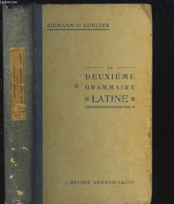 LA DEUXIEME GRAMMAIRE LATINE.
