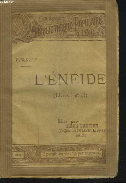 L'ENEIDE (LIVRES I ET II)