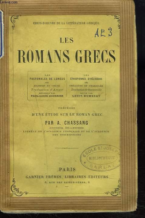 LES ROMANS GRECS