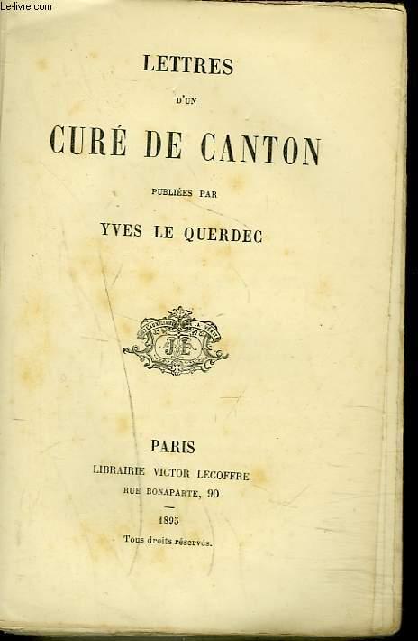 LETTRES D'UN CURE DE CANTON