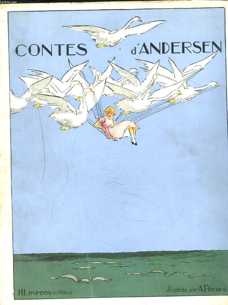 CONTES D'ANDERSEN illustres par A. PECOUD.