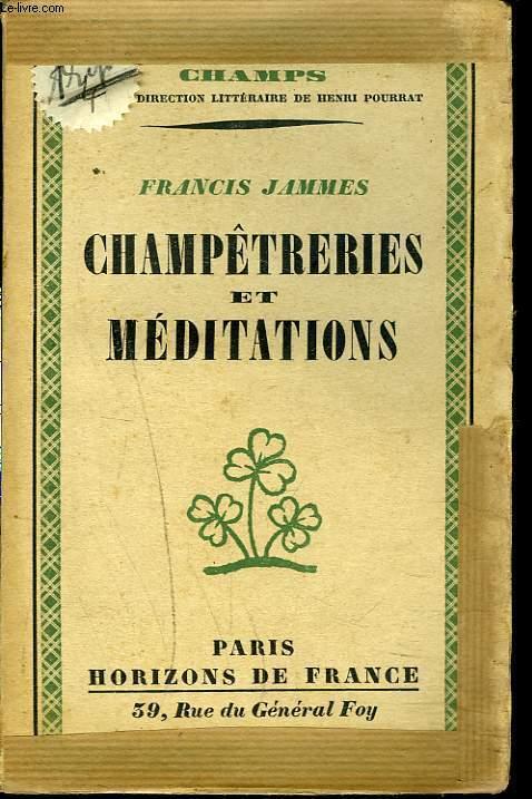 CHAMPETRERIES ET MEDITATIONS.