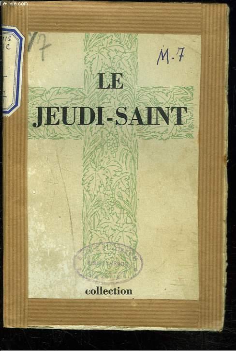 LE JEUDI-SAINT