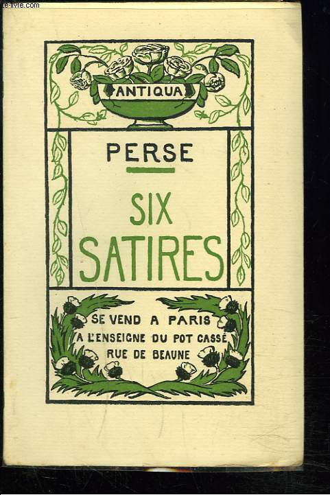 SIX SATIRES