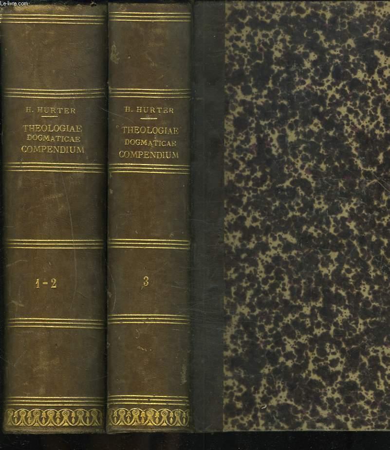 THEOLOGIA DOGMATICAE COMPENDIUM IN USUM STUDIRUM THEOLOGIAE. TOMUS I, II, III. (EN 2 VOLUMES)