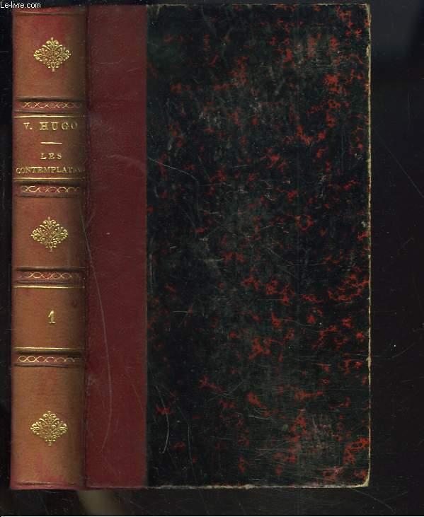 LES CONTEMPLATIONS. I. AUTREFOIS 1850-1845.