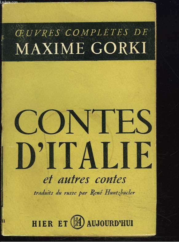 CONTES D'ITALIE ET AUTRES CONTES.