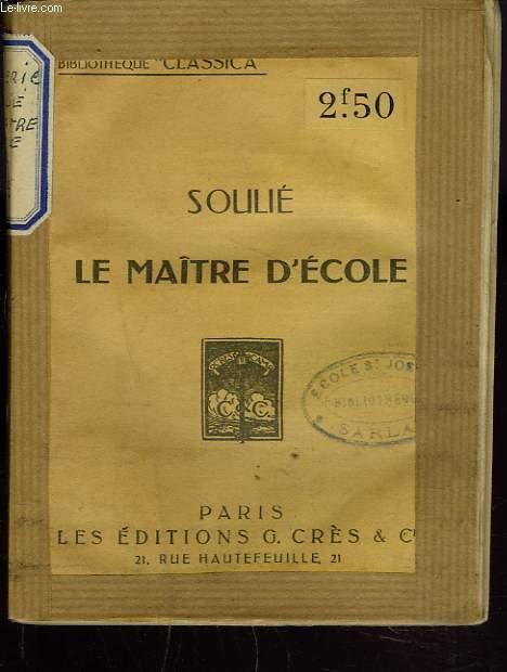 LE MAÎTRE D'ECOLE.
