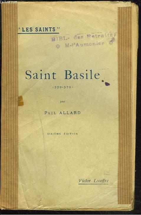 SAINT BASILE (329-379).