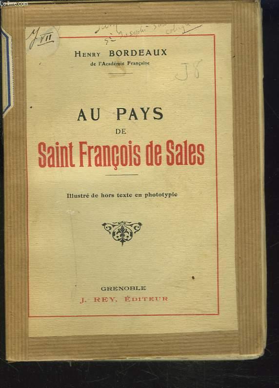 AU PAYS DE SAINT FRANCOIS DE SALES
