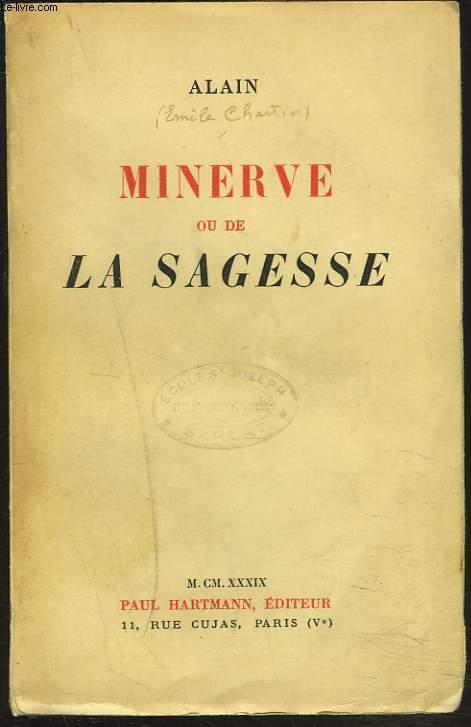 MINERVE OU DE LA SAGESSE