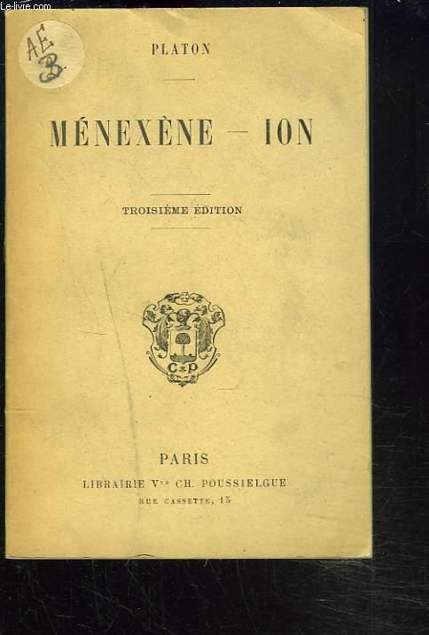 MENEXENE - ION.