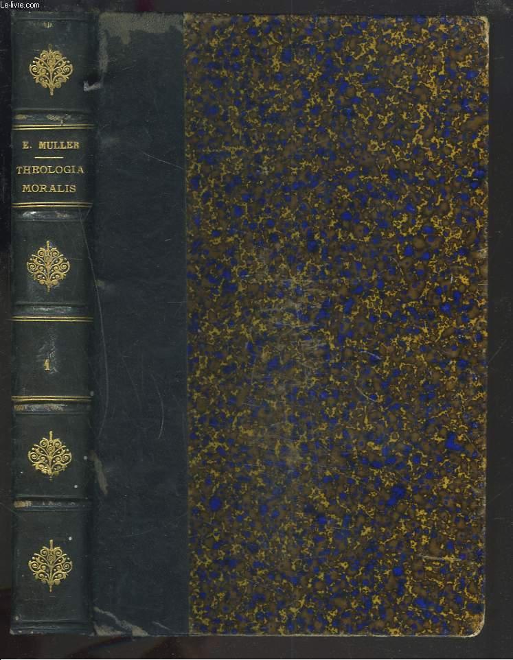 THEOLOGIA MORALIS. LIBER I.